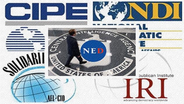 CIA'nın yasa dışı operasyonlarının taşeronu NED