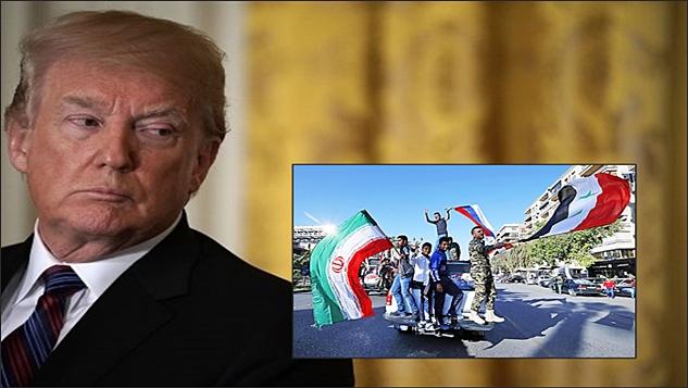 Trump, Bush'un Irak'ta yaptığı gibi(!) Suriye'yi İran'a bırakmak istiyor(!)