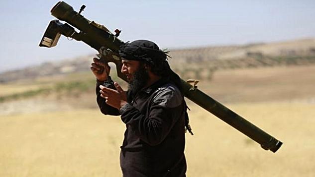 Amerika Suriyeli terör gruplarına hava saldırılarına karşı füze veriyor