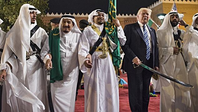 Abu Trump al-Amriki'nin kılıçla raksı Kissinger'ın doktrinine dahil midir?