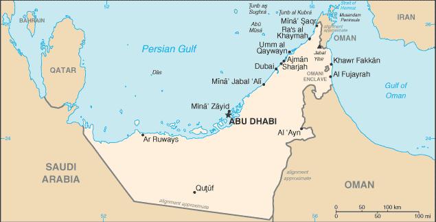 Birleşik Arap Emirlikleri, Basra Körfezi'ndeki ABD bölgesel stratejisinin kalbinde width=