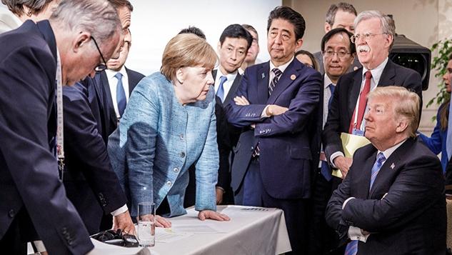 Almanya Amerika'ya meydan okurken, ABD ile Avrupa, birbirinden uzaklaşıyor