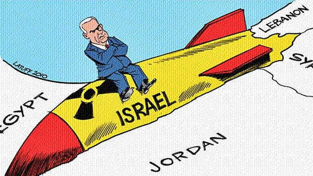 Batı her şeyi ters yüz ediyor: Bölge için nükleer tehdit olan İsrail'dir, İran değil! width=