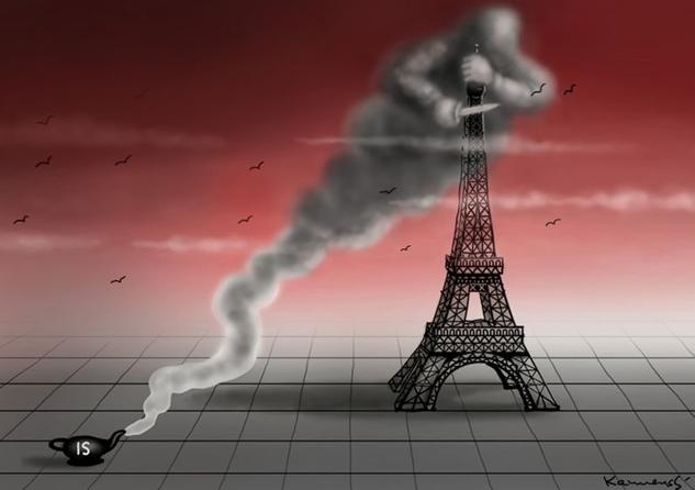 Terör örgütü (DAEŞ) IŞİD'in Paris saldırısı