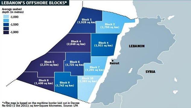 Beyrut-Tel Aviv arasında yoğun jeopolitik gerginlik: Lübnan enerji kaynakları