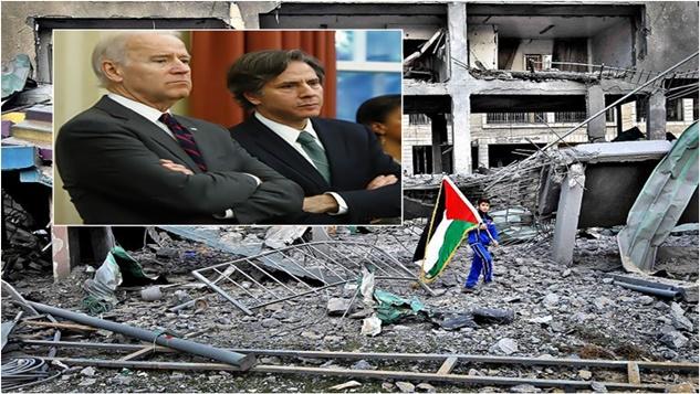 """İsrail'in savaş suçları ve emperyalizmin """"insan hakları"""" ikiyüzlülüğü width="""