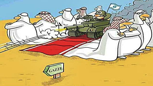 Gazze ve baş döndüren ihanet çemberi