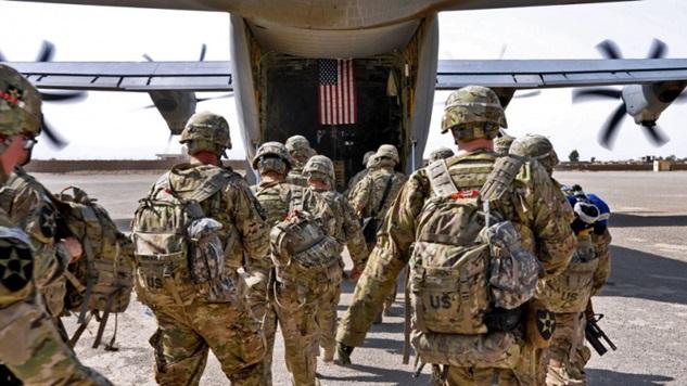 Suçlu hava kuvvetleri de dahil olmak üzere tüm ABD ordusu Irak'tan ayrılmalı