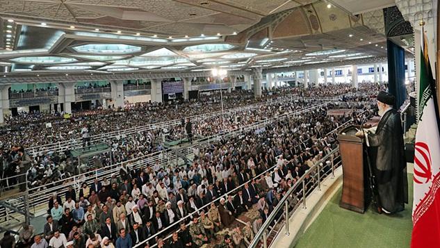 İslam İnkılabı Rehberi'nin İslam alemine zalim düşmanlar karşısında direniş çağrısı