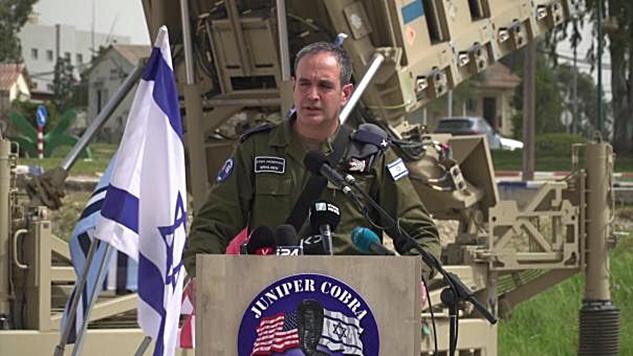 """İsrailli Hava Kuvvetleri Komutanının gözüyle """"üçlü saldırı"""""""