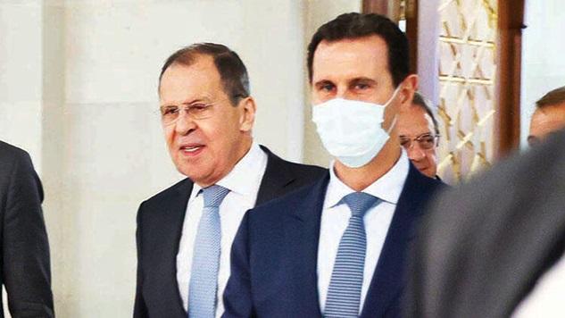 Şam'dan Rusya'ya sitemler…