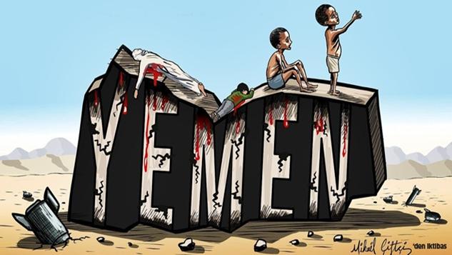 Yemen'deki kıtlığın ortak sorumlusu ABD ve Fransa'dır width=