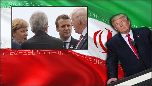 Avrupa ve Amerika, Washington'ın İran'a yönelik ekonomik savaşı üzerine çatışıyor width=