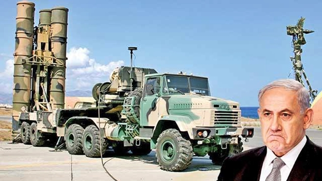 S-300 füzeleri ile kendisine Suriye hava sahası kapanan İsrail karmaşa halinde