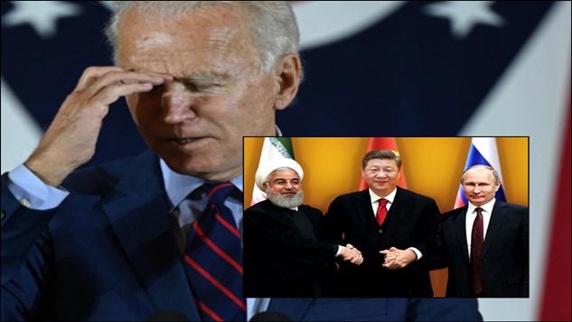 Üç taraflı İran-Rusya-Çin ittifakı ABDyi korkutacak kadar büyüyor width=