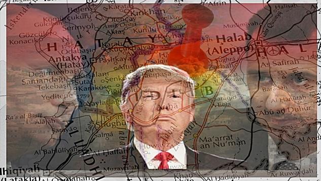 Rusya El Kaide mevzilerini bombalarken Washington Suriye'ye yönelik tehditlerini tırmandırıyor