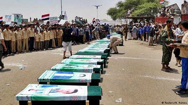 Yemen'de en az 85.000 çocuğun ölümü ve Suudi-ABD savaş suçları