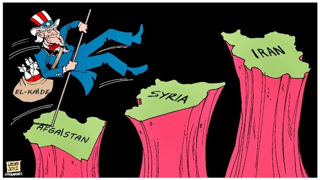 Afganistan'dan Suriye'ye, Yemen'e değişen bir şey yok... Şimdi de hedefte İran var