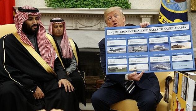"""Trump'ın Suudilere """"İran ile savaşın, sizi destekleyeceğiz"""" mesajı ne anlama geliyor?"""