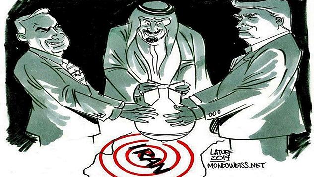 İran ile savaş karşılığında Filistin'i veren Suudi planı width=