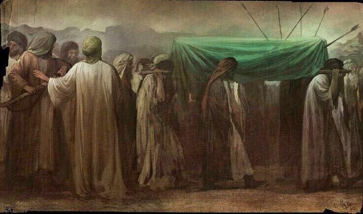 Onca yüzyıllar geçti İmam Hasan'ın tabutu oklanmaya devam ediyor