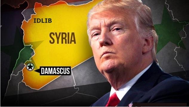 Trump, Suriye'nin saldırısı hakkında ikiyüzlü tehditler savuruyor