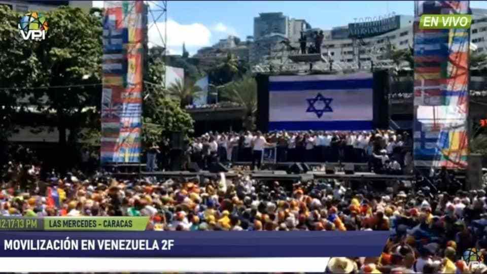 Venezuela'da İsrail'in ayak izleri width=