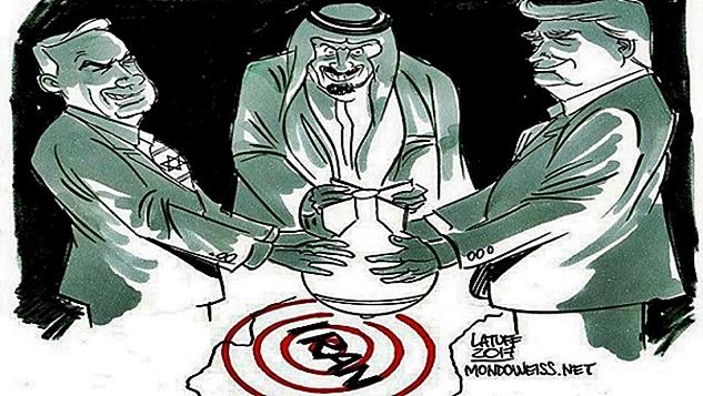 Amerika, İsrail ve Suudi Arabistan ile birlikte İran'a karşı bir savaş tezgahlıyor