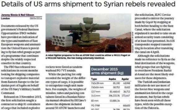 ABD Suriye'deki ateşkesi ihlal ediyor ve El Kaide'yi silahlandırıyor