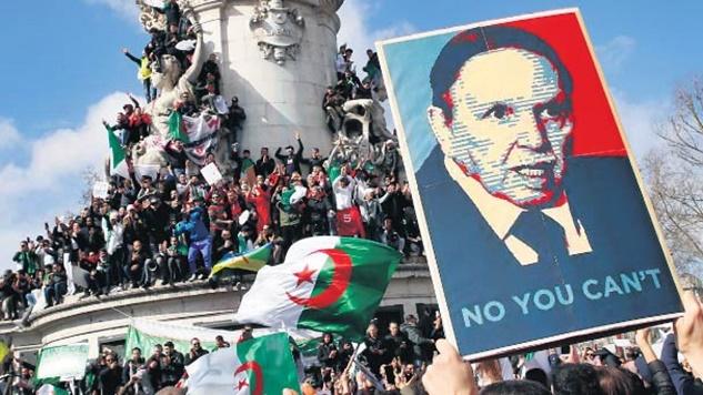 Cezayir halkı tüm dünyaya medeniyet dersi verdi