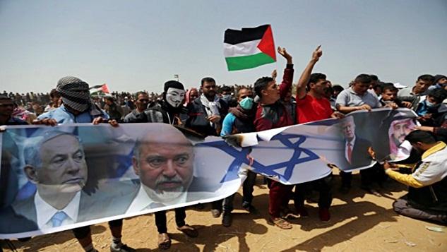 Gazze'deki katliam ve emperyalist savaş politikası width=