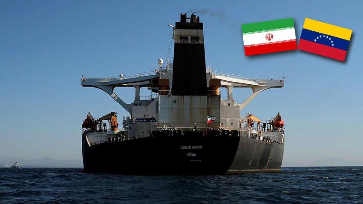 İran, ABD tehditlerine karşı en büyük tanker filosunu Venezuela'ya gönderiyor width=