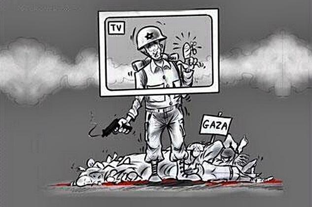 Batılı gazeteciler için Gazze'den haber verme rehberi