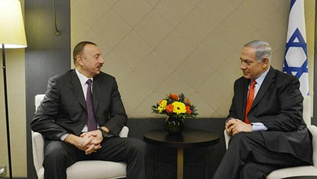 Azerbaycan İsrail ile dostluğunu gizlemiyor