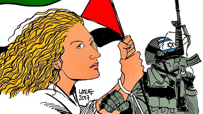 Ahed Tamimi: Filistinli gençlerin direniş simgesi