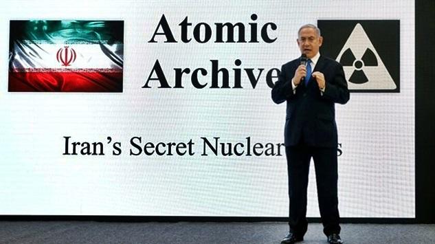 İran için nükleer tehdit propagandası yapan İsrail'in İran'a yönelik