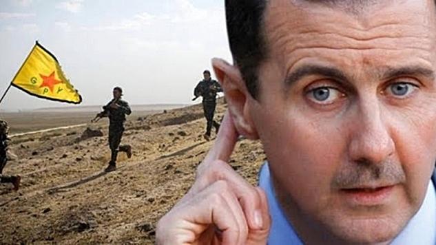 Kürtler Suriye rejimiyle diyaloğa hazır