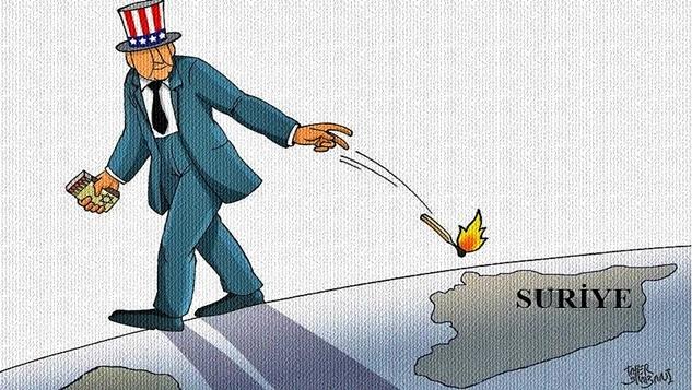 İran, Rusya ve Suriye yönetimine karşı Suriye savaşının uzatılması girişimleri