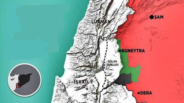 İşgalci ordu ile Suriye Ordusu arasındaki savaş meydanı: Kuneytra